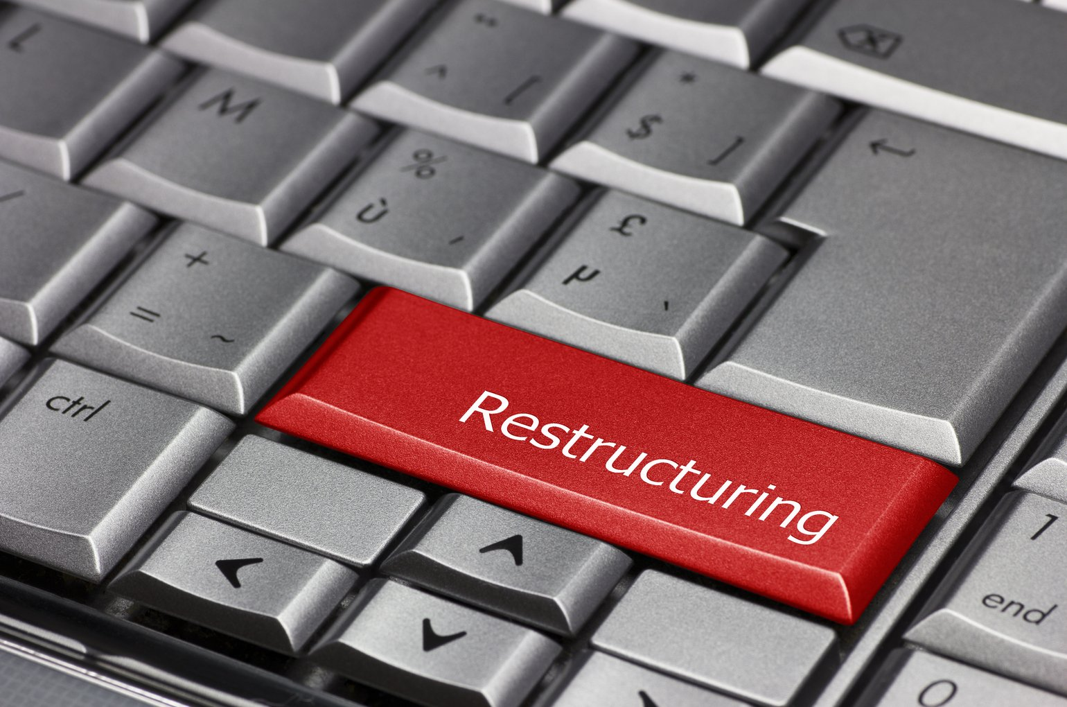 Computer Key Restructuring